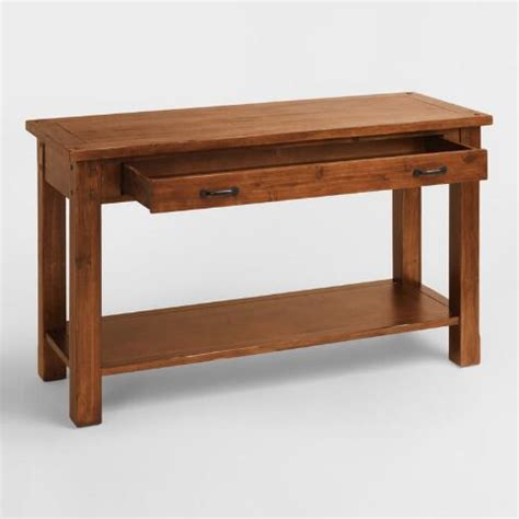 market console table madera console table market
