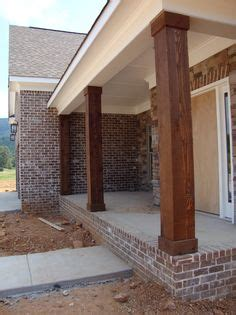cedar porch post for the home pinterest front