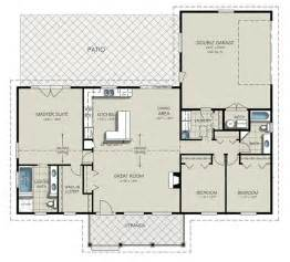 Ranch Style Floor Plan Ranch Style House Plan 3 Beds 2 Baths 1924 Sq Ft Plan 427 6
