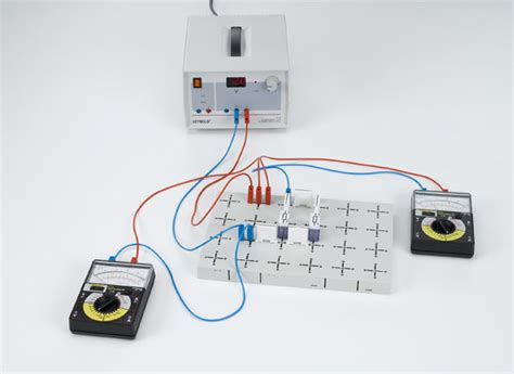 resistors connected in series experiment measuring current and voltage at resistors connected in parallel and in series measuring