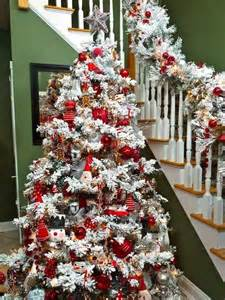 how to decorate white tree best 20 flocked trees ideas on
