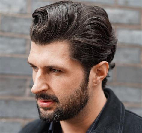 Hairstyle In Back by Slick Back Haircuts 40 Trendy Slicked Back Hair Styles