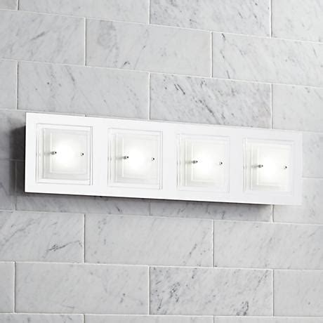 Possini Euro Design Tifton 25 3 4 Quot Wide Glass Led Bath Possini Bathroom Lighting