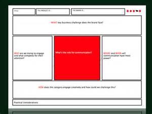 ogilvy creative brief template a totally subjective creative brief template review the