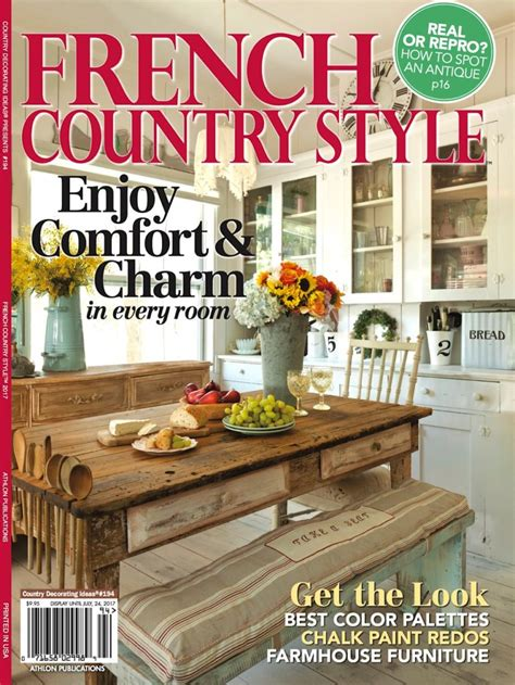 country home decor magazine french country style magazine feature cedar hill farmhouse