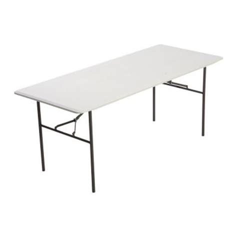 lifetime residential 6 ft folding table 80291 the home