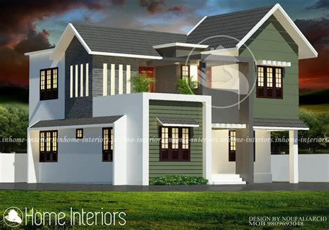2813 sq ft 4 bhk modern home kerala home design and floor plans 1700 square 4 bhk contemporary renovation home design