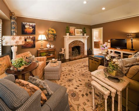 country living traditional family room kansas