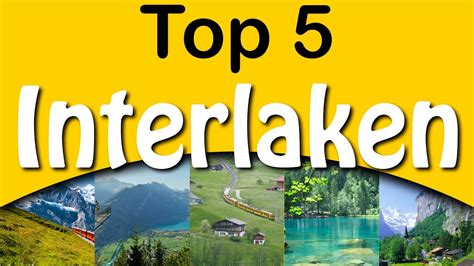 Top 5 Things Wed Like On The Next Ipod by Top 5 Attractions Interlaken