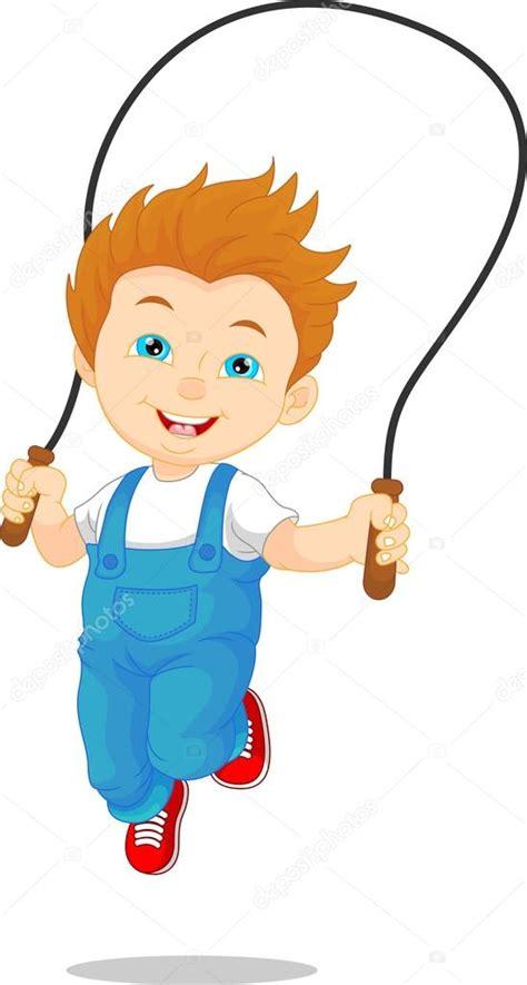 imagenes niños saltando la cuerda ni 241 o jugando a saltar la cuerda archivo im 225 genes