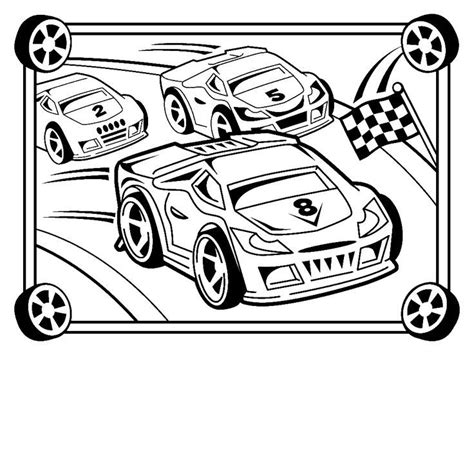 Race Car Coloring Pages Coloring Home Race Car Coloring Pages