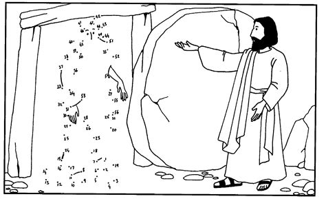 coloring page jesus and lazarus 9 images of jesus raises lazarus from the dead coloring