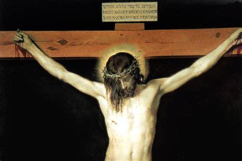 velazquez christ on the cross integrated catholic life