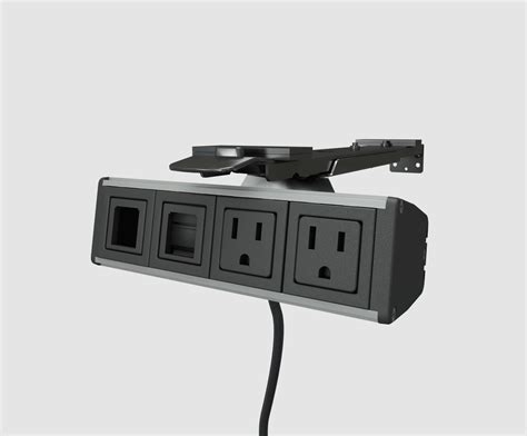 Boardroom Table Power And Data Modules Power Data Cable Management Modules Enhance Your Desktop And Conference Table