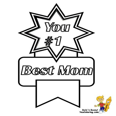 websites that you can print coloring pages mothers day printable of you 1 best mom ribbon you can