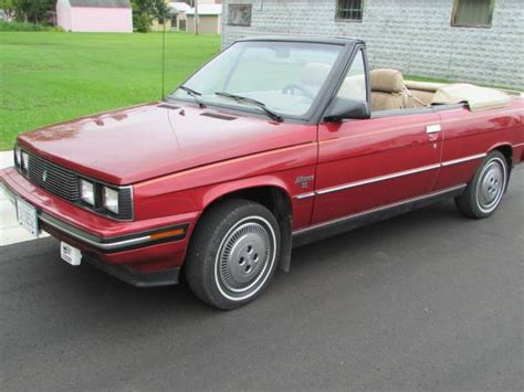 1985 renault alliance convertible renault alliance craigslist autos post
