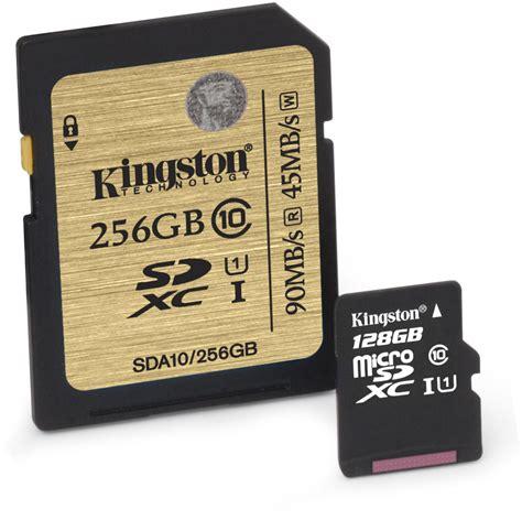 Microsd 256gb kingston launches class 10 128gb microsd and 256gb sd