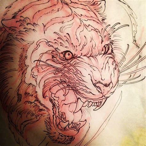 tattoo japanese sketch tiger tattoo sketch jeff norton atascadero ca www