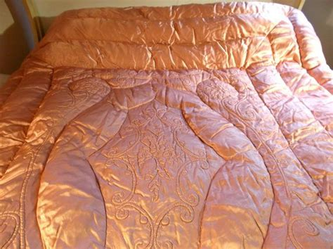 satin down comforter 99 best images about my vintage satin down comforters on