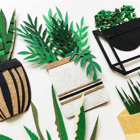 Paper From Plants - intricately woven paper plants you can hold in your