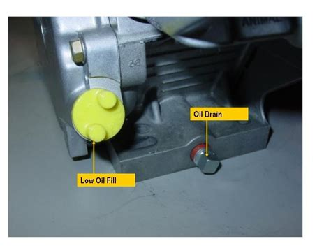 Where Is The Oil Drain Plug Craftsman Lawn Mower Lts 1500