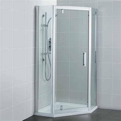 Ideal Standard Synergy 800 X 1900mm Pivot Door Pentagon Pivot Door Shower Enclosure