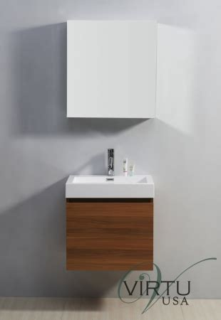 24 Inch Single Sink Bathroom Vanity with a Hidden Drawer