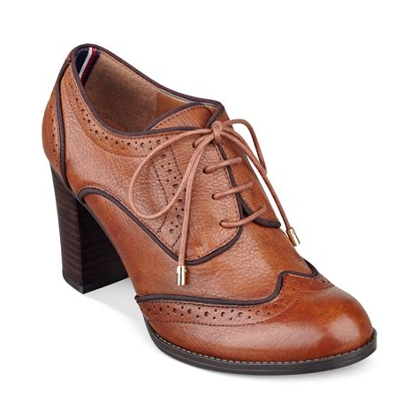 hilfiger oxford shoes hilfiger s fabiole oxford shooties in brown