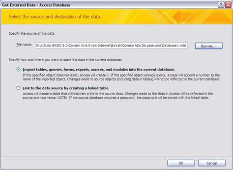 cara membuat table query form report edukasi cara membuat database acces berpassword dengan ms