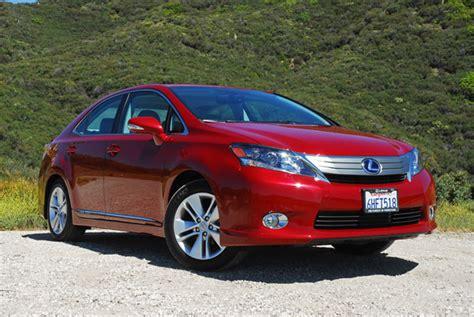 2010 lexus hs 250h review 2010 lexus hs 250h hybrid review test drive