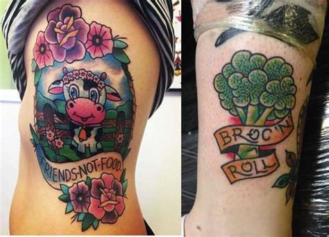 tattoo ideas vegan aesthetic tattoos for vegans
