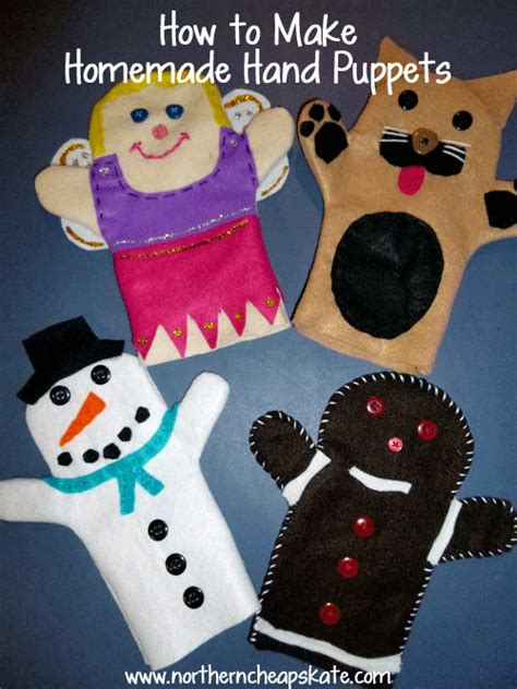 How To Make Handmade Puppets - gifts handmade puppets