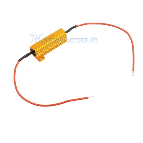 load ballast resistor 4 12v 50w 6ohm car load resistor indicator flash rate relay led bulbs ballast ebay