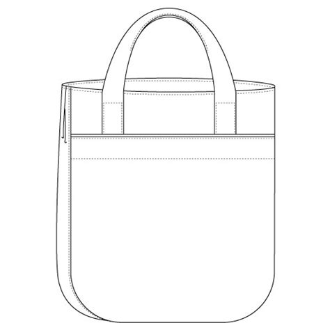 drawing bag pattern super tote bag pattern by noodlehead style meets function
