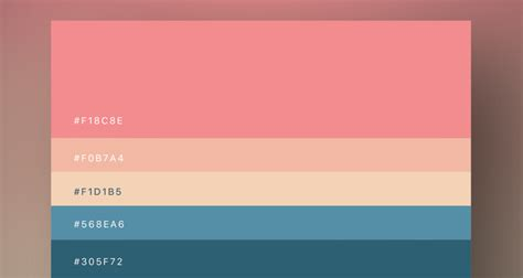 flat color 8 beautiful flat color palettes for your next design project