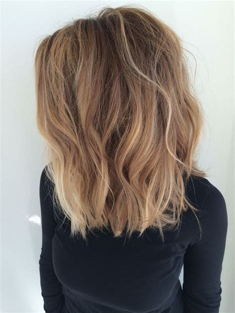 balayage on medium length hair 15 balayage medium hairstyles balayage hair color ideas