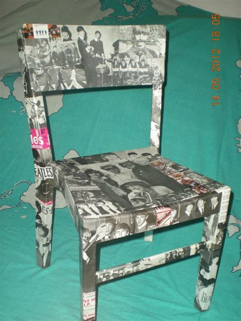 Decoupage Chair Ideas - 17 best ideas about decoupage chair on