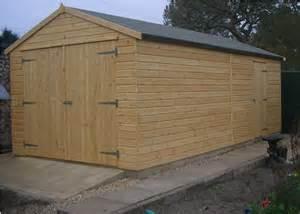 Wooden Garage Wooden Garage