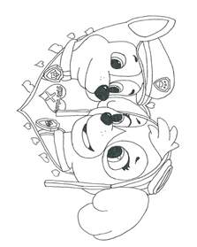 free paw patrol coloring pages free coloring pages of paw patrol cat