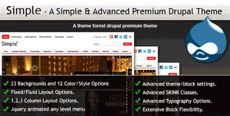 themes drupal 7 premium 15 of the best premium drupal themes for developers