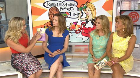 hoda and kathy lee hairstyle pictures 2015 playing house stars share their favorite things with klg