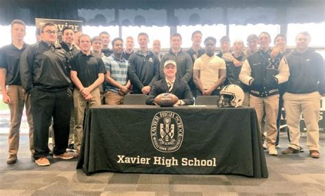 Letter Of Intent Xavier School Football Xavier Qb Will Levis Becomes Reality As He Signs With Penn State