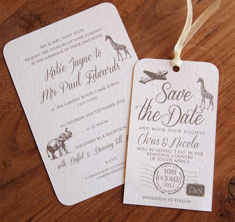 Zoo Themed Wedding Invitations by Safari Wedding Invitations Stationery Paper Pleasures
