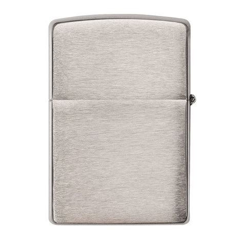 chrome zippo authentic zippo lighter classic brushed chrome zippo com