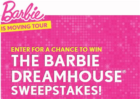 Pick Your Dream Car Instant Win Codes - win a barbie dreamhouse sweepstakes sweeps maniac