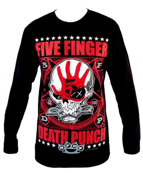 Tshirt Five Finger Punch C3 five finger punch sleeve t shirt size by therockshirts