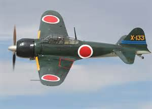 Mitsubishi Zero Plane Japanese Zero Plane 12 O Clock High