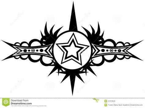 imagenes de aztecas blanco y negro tatuaje de la estrella en blanco y negro stock de