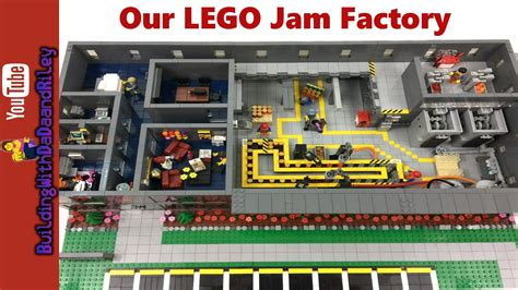 lego hotel tutorial huge custom lego moc janet s jam factory youtube