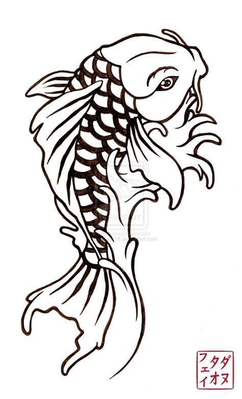 koi fish tattoo stencils designs japanese tattoos fish koi design